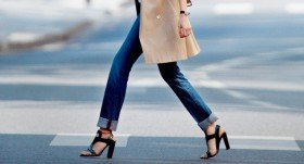 How to wear a Straight-Leg Jeans?