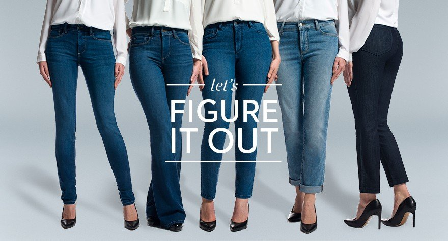 74523fc3e71 Find the perfect jeans for your body type