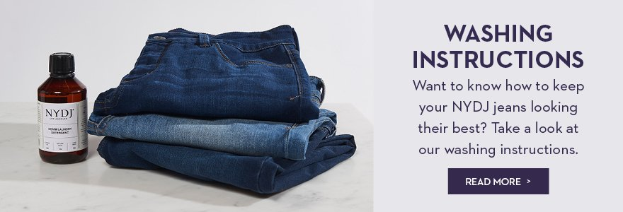 NYDJ | Maintenance of your jeans